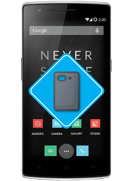 oneplus-one-backcover-reparatur