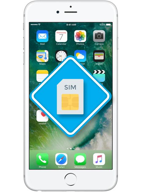Iphone 6s Plus Sim Karte.Apple Iphone 6s Plus Sim Kartenleser Austausch Reparatur